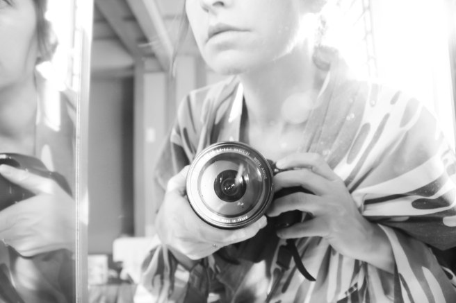 self portrait in mirror bw (13 of 1)