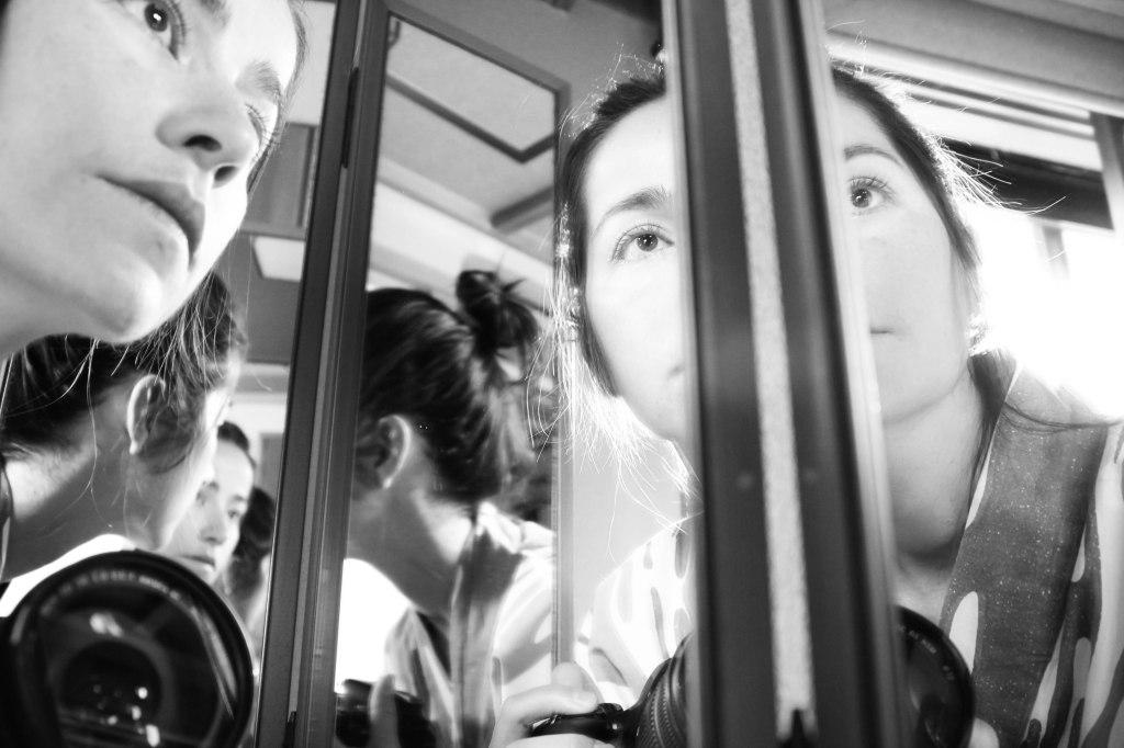 self portrait in mirror bw (3 of 1)