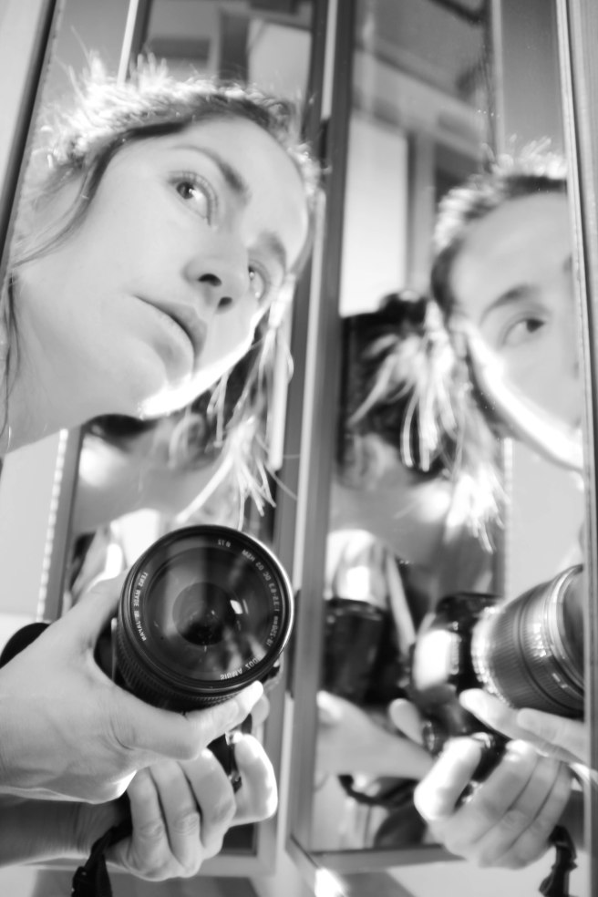 self portrait in mirror bw (9 of 1)